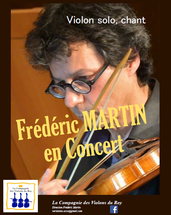 Concert Frédéric Martin