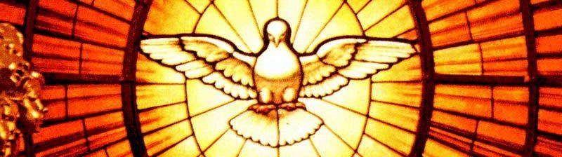 Vitrail de l'Esprit Saint